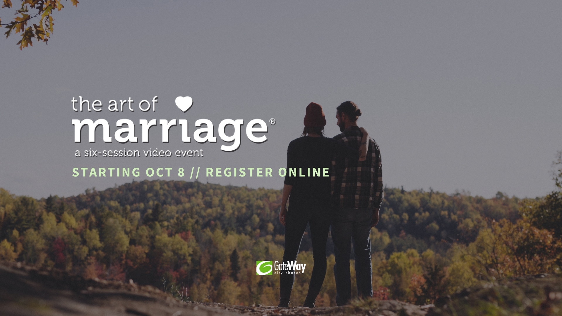ART OF MARRIAGE Starting Oct 8 __ Register Online